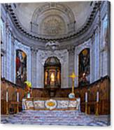 Alter At St Martins Cathedral Canvas Print