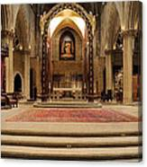 Alter Of St. Josheph's Canvas Print