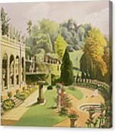 Alton Gardens Canvas Print