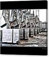 Alton Hydro Plant Canvas Print