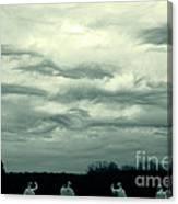 Altostratus Undulatus Asperatus Clouds Canvas Print