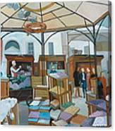 Altwiener Ostermarkt Canvas Print