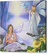 Alyssa and Victoria Canvas Print