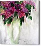 Alyvos - Lilacs Canvas Print