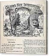 am t 24 colton climate vignettes R Canvas Print
