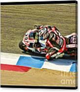 Ama Superbike David Anthony Canvas Print