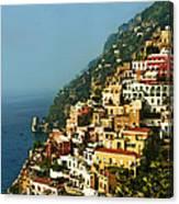 Amalfi Coast Hillside II Canvas Print