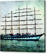 Amalfi Coast.royal Clipper  Canvas Print