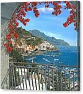 Amalfi Vista Canvas Print