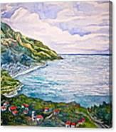 'amalfitana' Canvas Print