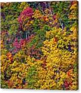 Amazing Cloudland In The Fall Canvas Print