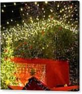 Amazing Christmas Lights Canvas Print