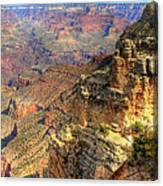 Amazing Colors Of The Grand Canyon  Canvas Print