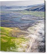 Amazing Iceland Landscape Canvas Print