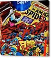 Amazing Spiderman Canvas Print