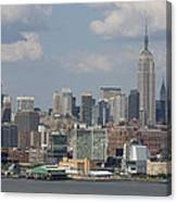 Amazing View Of Nyc Canvas Print