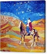 Amazon In A Desert Canvas Print