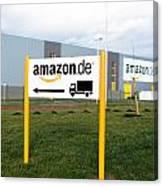 Amazon Warehouse Canvas Print