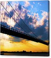 Ambassador Bridge Canvas Print