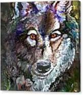 Amber Eyes Canvas Print