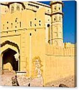 Amber Fort - Jaipur - India Canvas Print