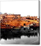 Amber Palace - Jaipur- Viator's Agonism Canvas Print