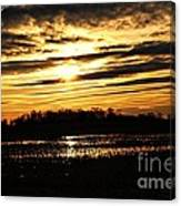 Amber Skys Four Canvas Print