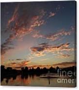 Amber Skys Ll Canvas Print