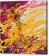 Amber Sun Canvas Print