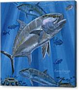 Amberjack In0029 Canvas Print