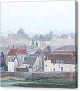 Amboise And The Loire River France Canvas Print