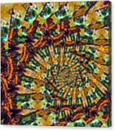 Amen Spiral Canvas Print