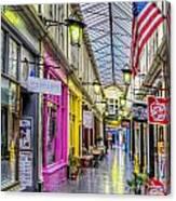 America Cardiff Style Canvas Print