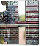 America Land Of The Free Canvas Print