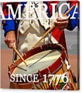 America Since 1776 Canvas Print