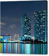 American Airlines Arena And Condominiums Canvas Print
