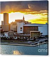 American Airlines Arena Canvas Print