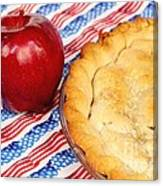American As Apple Pie Canvas Print