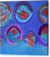 American Blue Canvas Print