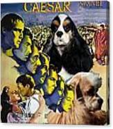 American Cocker Spaniel Art - Julius Caesar Movie Poster Canvas Print