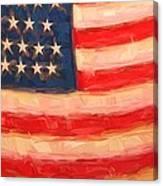 American Colours Canvas Print