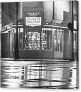 American Coney Detroit  Canvas Print