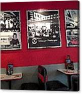 American Diner Canvas Print