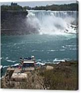 American Falls From Above The Maid Canvas Print