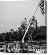 American Flag Monument Canvas Print