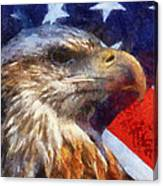 American Flag Photo Art 04 Canvas Print