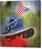 American Flag Photo Art 06 Canvas Print