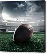 American Football Ball Canvas Print
