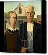 American Gothic Duvet Canvas Print
