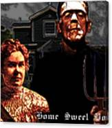 American Gothic Resurrection Home Sweet Home 20130715 Canvas Print